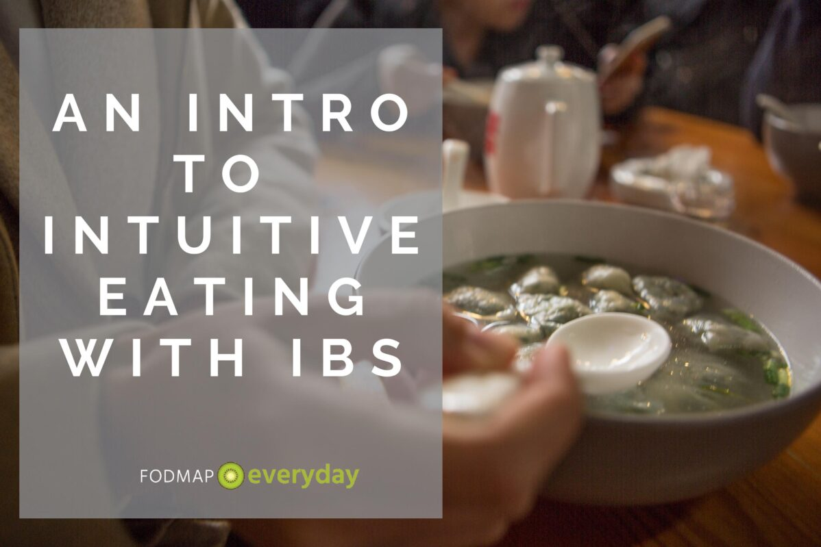 Feature Image for Intro to Intuitive Eating with IBS