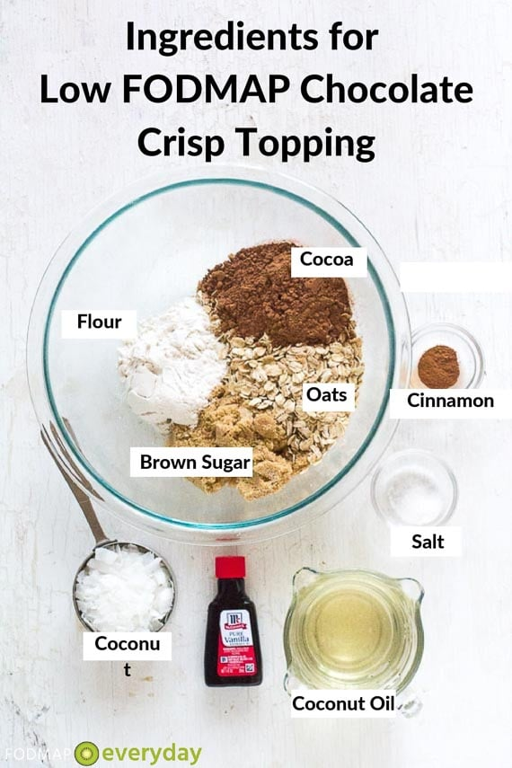 Tropical-Crisp-Topping ingredients