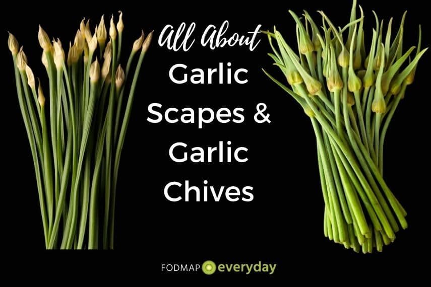 all about garlic scapes and garlic chives feature image