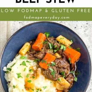 Low FODMAP Instant Pot Beef Stew - FODMAP Everyday