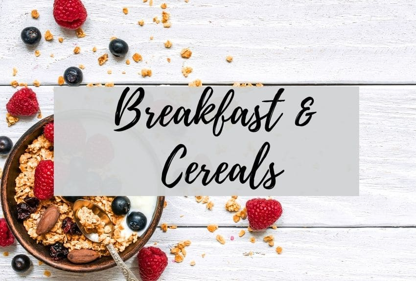 Breakfast and Cereal Collection