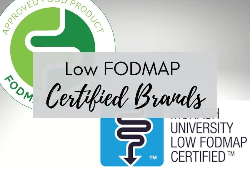 Low FODMAP Certified Brands Product Collection
