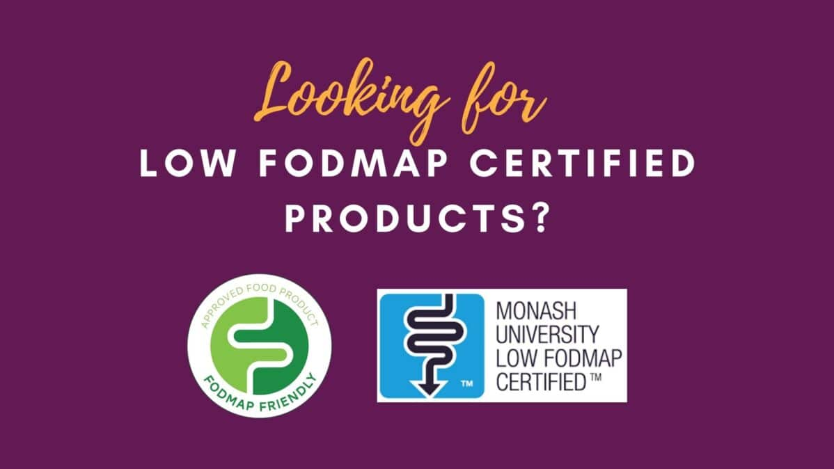 Feature Image for Looking for Low FODMAP Certified Products