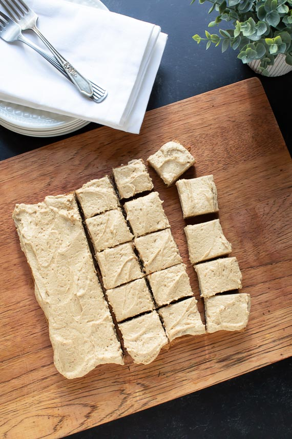 overhead-image-of-blondies-covered-with-espresso-buttercream-on-a-wooden-board-1