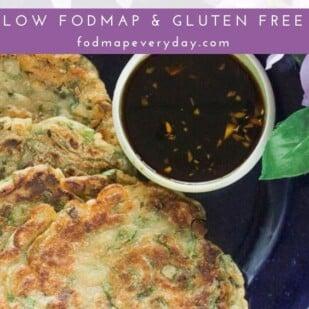 Low FODMAP Scallion Pancakes