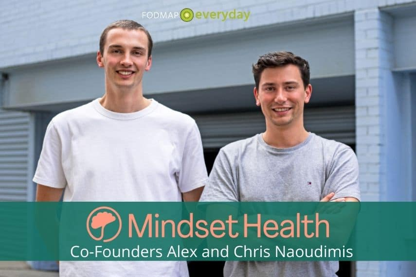 Co Founders of Mindset Health, Alex and Chris Naoumidis