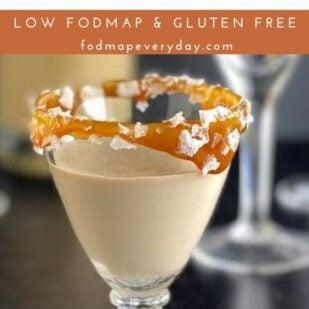 Low FODMAP Salted Caramel Sauce