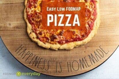 Easy Low FODMAP Pizza