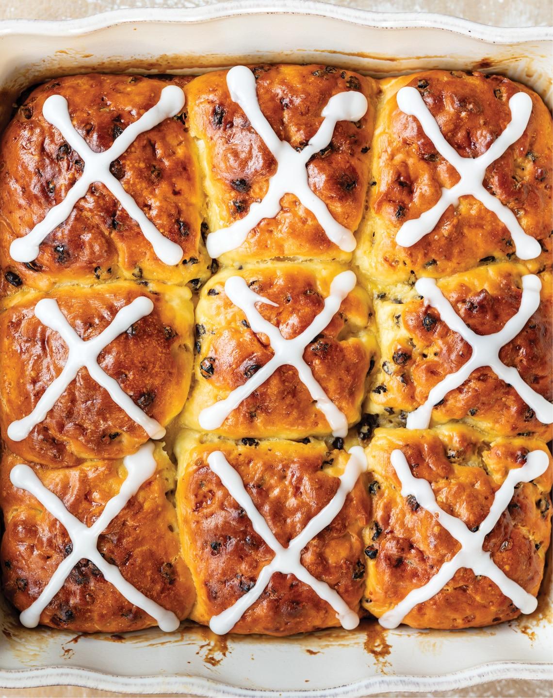 Hot cross buns by Flour Craft