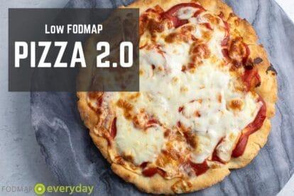 Low FODMAP Pizza 2.0