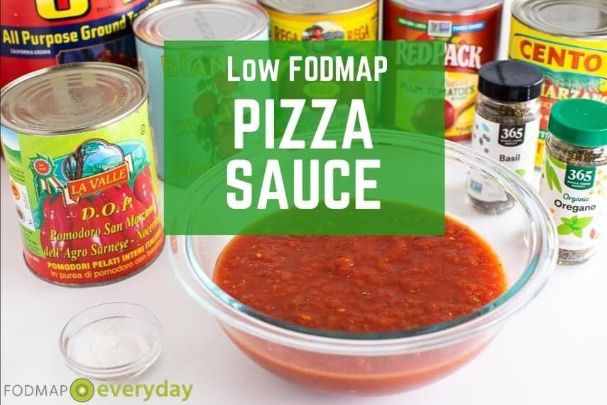 Low FODMAP Pizza Sauce