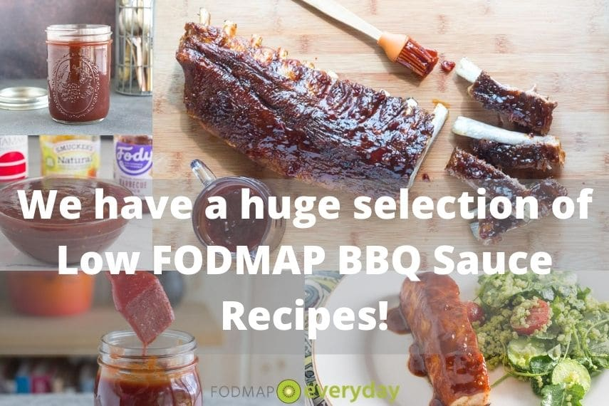 We have a huge selection of low FODMAP BBQ Sauces - grid of photos