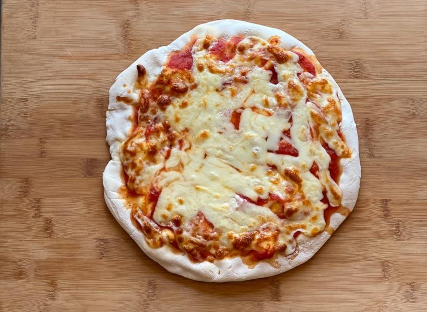 Caputo GF flour pizza NOT BAKED LONG ENOUGH