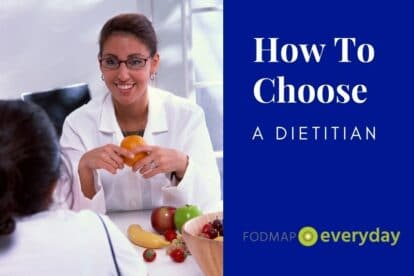 How To Choose A Dietitian Feature Image