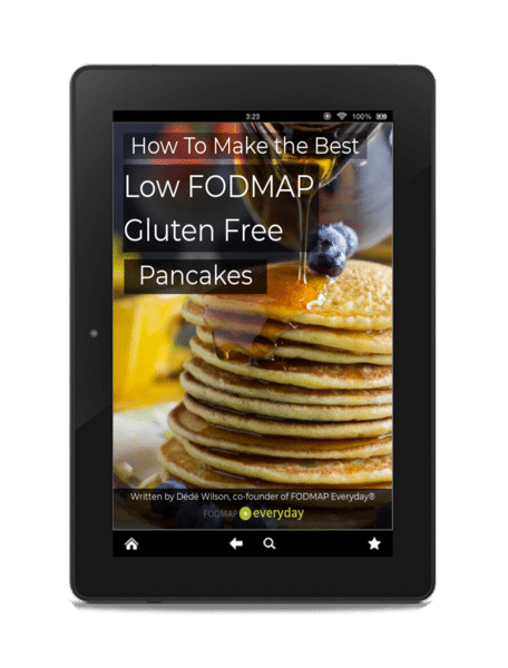 how to make the best low fodmap gluten free pancakes ebook image