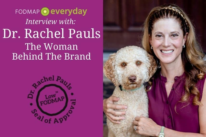 Feature Image for Dr. Rachel Pauls Interview - Portrait photo of Dr. Pauls with her dog