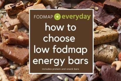 Feature image for How To Choose Low FODMAP Energy Bars