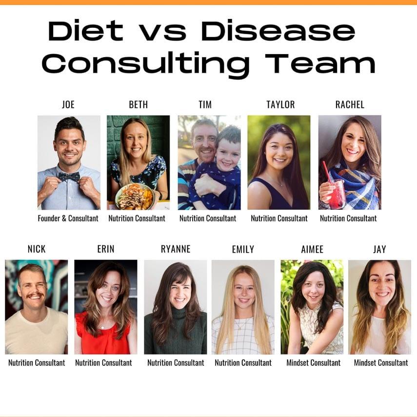 Diet vs Disease Consulting Team square